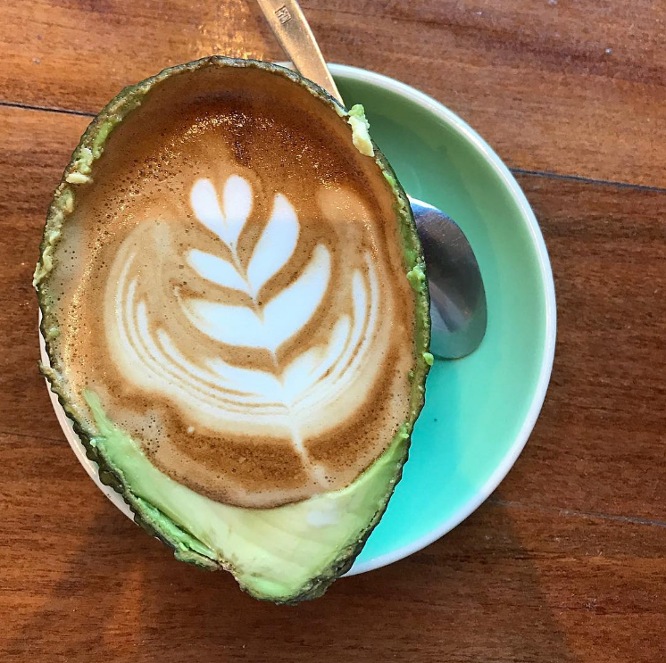 Avolatte at Truman Cafe.